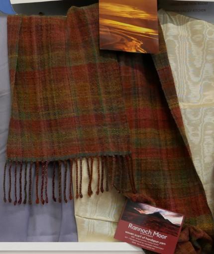 Ethne Illingworth - Rannoch Moor - woven, hand-spun