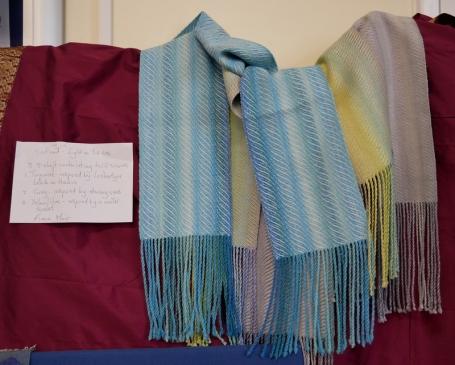 Fiona Moir - Light on the Sea - Woven Silk