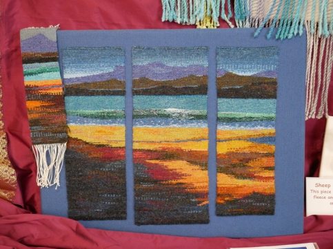 Siobhan Ratchford - Tapestry weaving