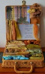 Meryl McDonald - Scottish Garden - Dyeing exploration
