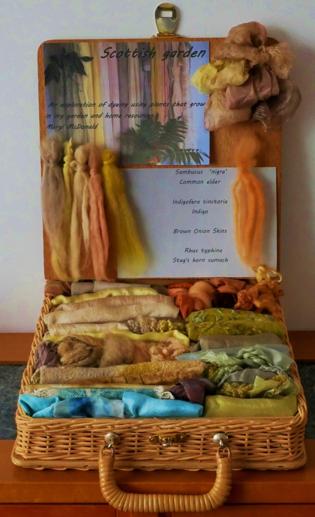Meryl McDonald - Scottish Garden - Dyeing exploration