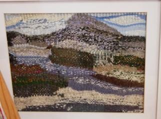 Tapestry weavingKathleen Stuart - Highland Lochans in Sunderland