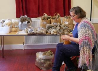 Jane - Oxford Down Fleeces