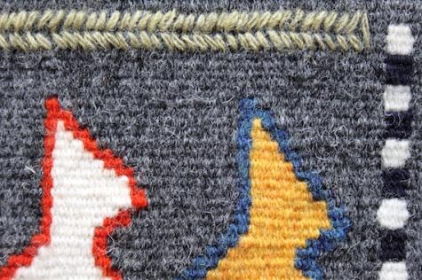 Siobhan - weaving detail